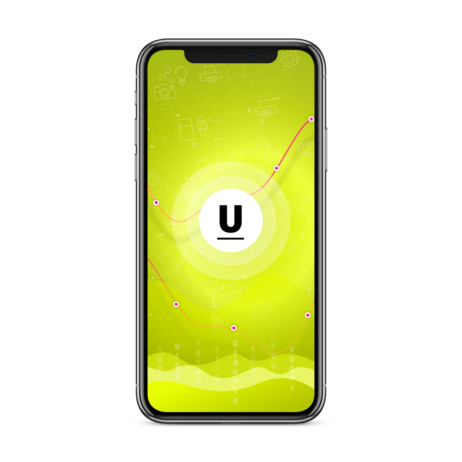 iPhone-X-Space-Gray-Frontal-Free-Mockup копия1